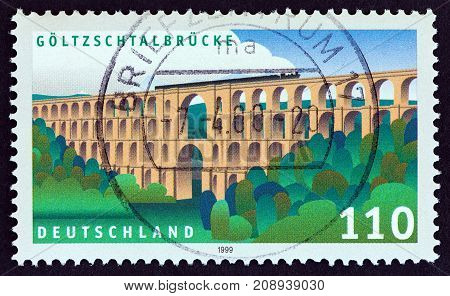 GERMANY - CIRCA 1999: A stamp printed in Germany from the