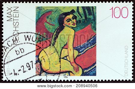 GERMANY - CIRCA 1996: A stamp printed in Germany from the