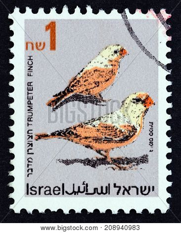ISRAEL - CIRCA 1992: A stamp printed in Israel from the