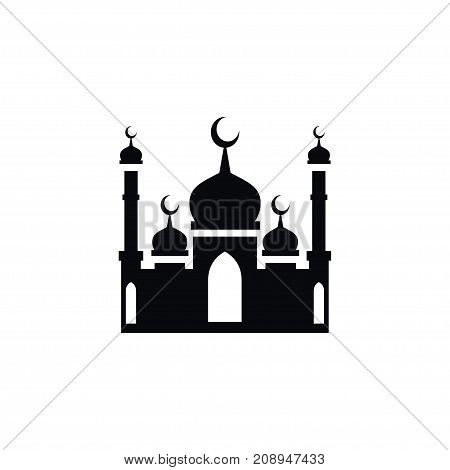 Culture Vector Element Can Be Used For Culture, Mosque, Religion Design Concept.  Isolated Mohammedanism Icon.