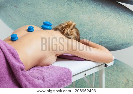 Massage With Cupping Glass In Beautician