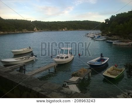 Good night, little boats, see you tommorow
