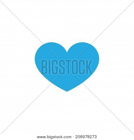 Premium Quality Isolated Heart Element In Trendy Style.  Favorite Colorful Icon Symbol.