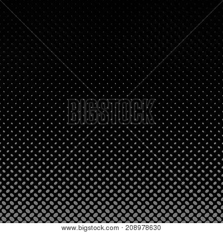 Geometrical halftone ellipse pattern background - vector graphic from diagonal elliptical dots