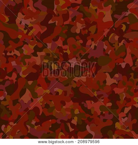 abstract vector chaotic spotted seamless pattern - red