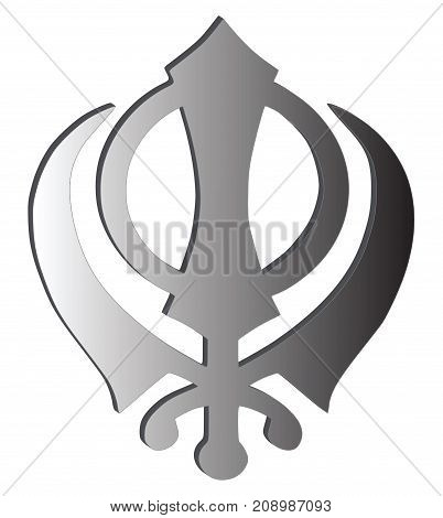 Main Symbol Sikhism Image Photo Free Trial Bigstock