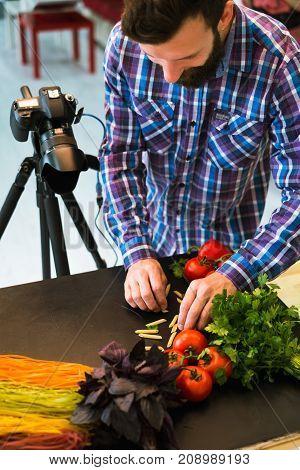 vegetarian food photography blog photo stylist photographer concept