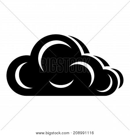 Art cloud icon. Simple illustration of art cloud vector icon for web
