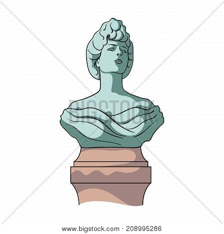 Monument, single icon in cartoon style.Monument vector symbol stock illustration .