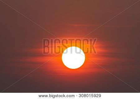 Global Warming From The Sun And Burning, Heatwave Hot Sun, Climate Change, Heatwave Hot Sun, Makes H