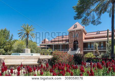Old Main At University Of Arizona