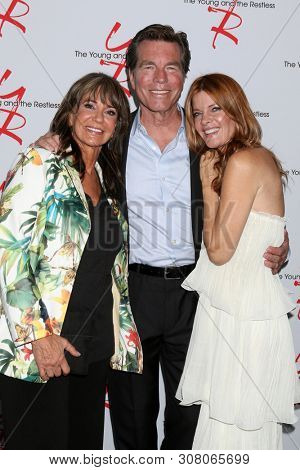 LOS ANGELES - JUN 23:  Jess Walton, Peter Bergman, Michelle Stafford at the Young and The Restless Fan Club Luncheon at the Marriott Burbank Convention Center on June 23, 2019 in Burbank, CA