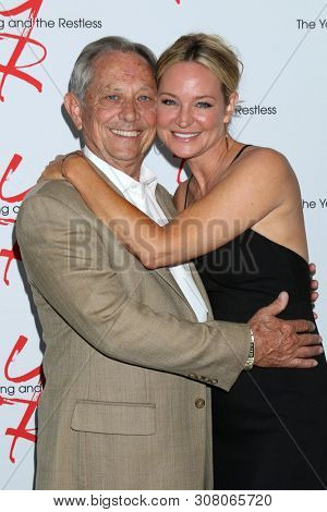 LOS ANGELES - JUN 23:  Jim Case, Sharon Case at the Young and The Restless Fan Club Luncheon at the Marriott Burbank Convention Center on June 23, 2019 in Burbank, CA