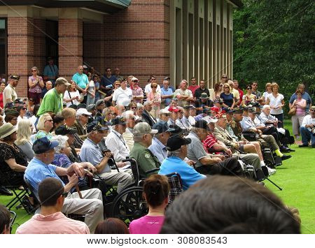 June 7th, 2014, Wheaton, Il, Cantigny Park, First Division Museum, D-day 70th Anniversary Ceremony H