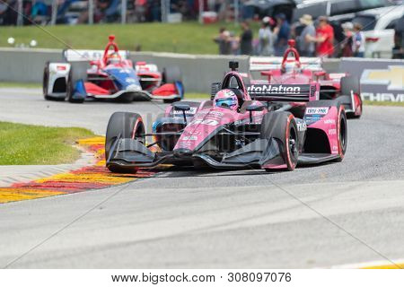 June 23, 2019 - Elkhart Lake, Wisconsin, USA: JACK HARVEY (60) of England  races through the turns during the  race for the REV Group Grand Prix at Road America in Elkhart Lake, Wisconsin.
