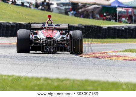 June 23, 2019 - Elkhart Lake, Wisconsin, USA: MATHEUS LEIST (4) of Brazil races through the turns during the  race for the REV Group Grand Prix at Road America in Elkhart Lake, Wisconsin.