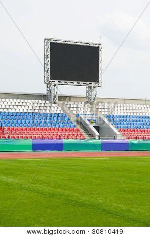 Scoreboard At Stadium