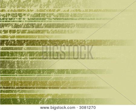 Green Striped Grunge Background