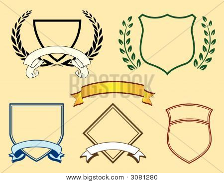 Banners And Logo Elements