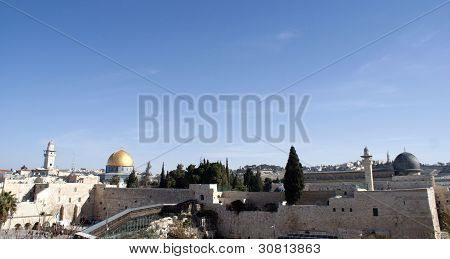 Temple mount view