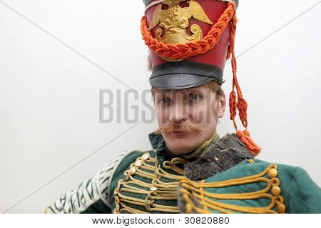 Serious Russian Hussar