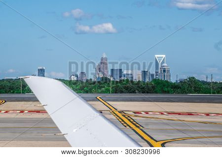 Scenes From The Charlotte North Carolina Airport