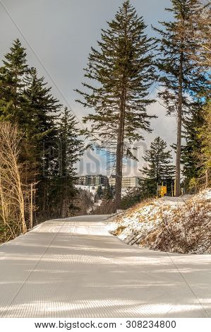 Beautiful Nature And Scenery Around Snowshoe Ski Resort In Cass West Virginia