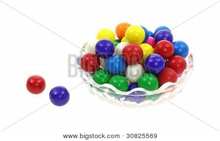 Colorful Bubble Gum Balls
