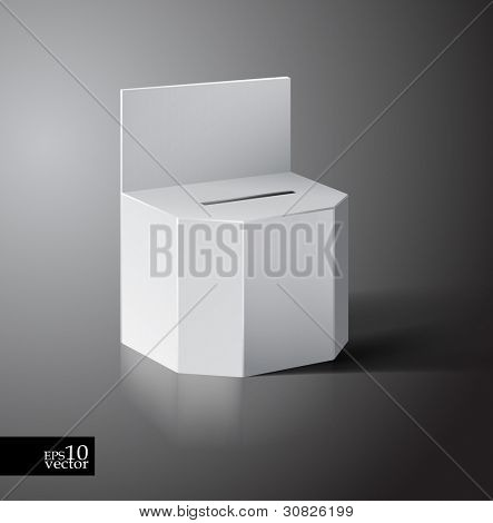 Vector ballot/lottery box