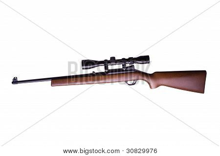 Rifle With Scope