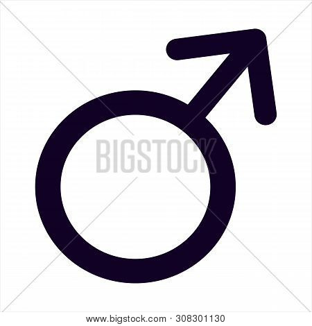 Male Icon Vector Isolated On White Background, Male Icon Image, Man Icon Vector Design, Man Icon Fla