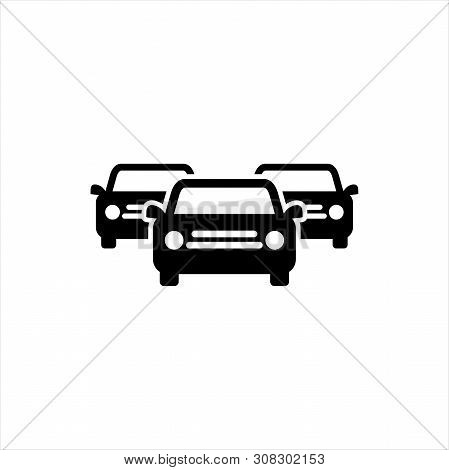 poster of Car Icon, Car Icon Vector, Car Icon Object, Car Icon Image, Car Icon Picture, Car Icon Graphic, Car Icon Art, Car Icon Drawing, Abstract car vector logotype. Auto icon symbol. Linear silhouette logo design.