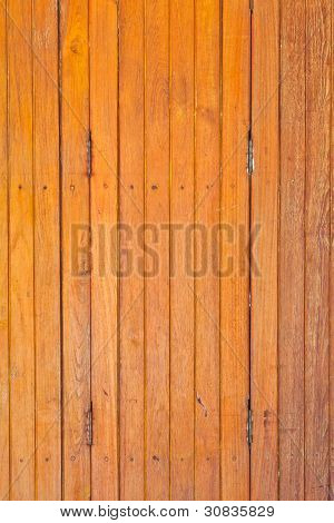 The Light Brown Wooden Partition