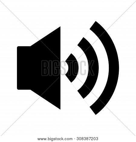 Speaker Icon Isolated On White Background. Speaker Icon In Trendy Design Style. Speaker Vector Icon