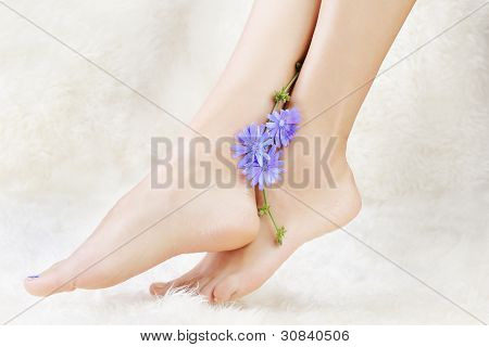 Healthy Legs And Flower