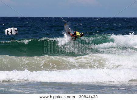 Professional Surfer - Austalian Open Manly