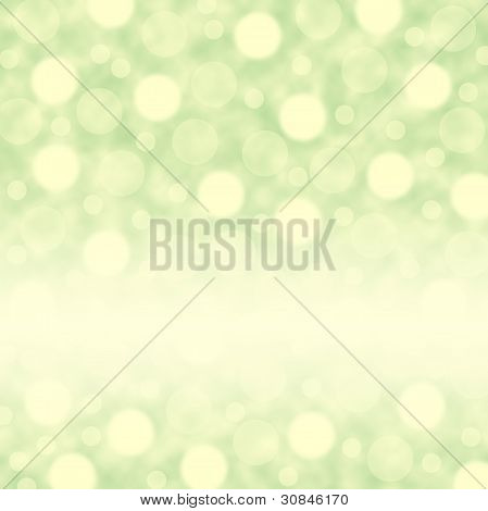 Green background with circles. Your text