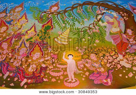 Buddha's Biography: Birth Of The Buddha