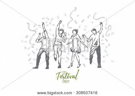 Festival Concept Vector Photo Free Trial Bigstock