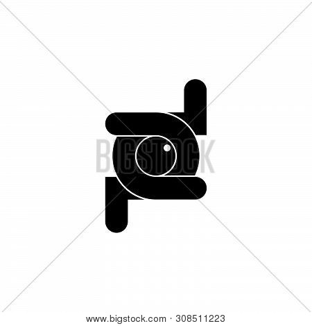 Letter Pd Linked Overlapping Logo Vector Unique Unusual Design Concept