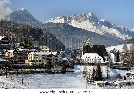 Berchtesgaden With Untersberg