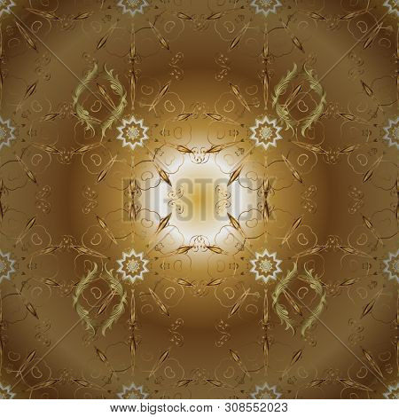 Design Wrapping And Gift Paper, Greeting Cards, Banner And Posters Design. Seamless Pattern Abstract