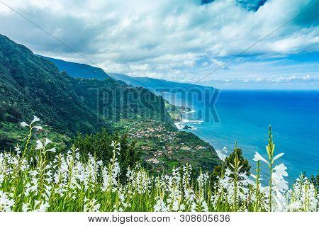 Northern Coast Of Atlantic Coast At Madeira Islands