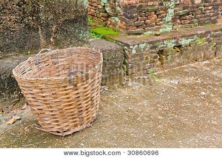 An Abandoned Basket