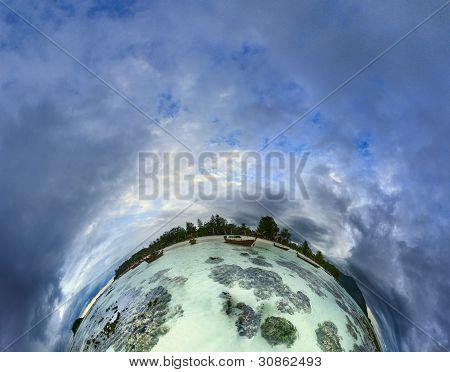 Meer Planet Insel Koh Lipe. Thailand