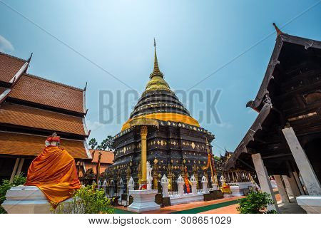 Wat Phra That Lampang Luang Is A Lanna-style Buddhist Temple In Lampang In Lampang Province, Thailan