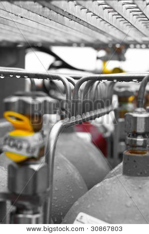 Stainless Steel Manifold Piping