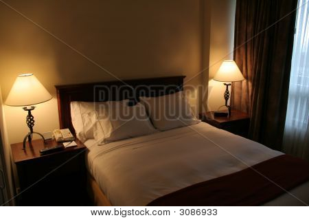 Sparse Hotel Room
