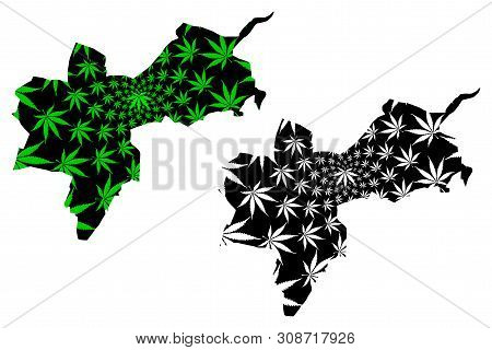 Basel-stadt (cantons Of Switzerland, Swiss Cantons, Swiss Confederation) Map Is Designed Cannabis Le