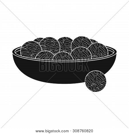 Vector design of aquaculture and platensis icon. Collection of aquaculture and fresh stock symbol for web. poster